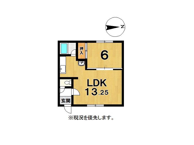 部屋画像2:間取図