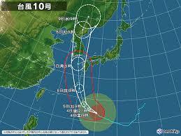 台風の季節かなぁ。。