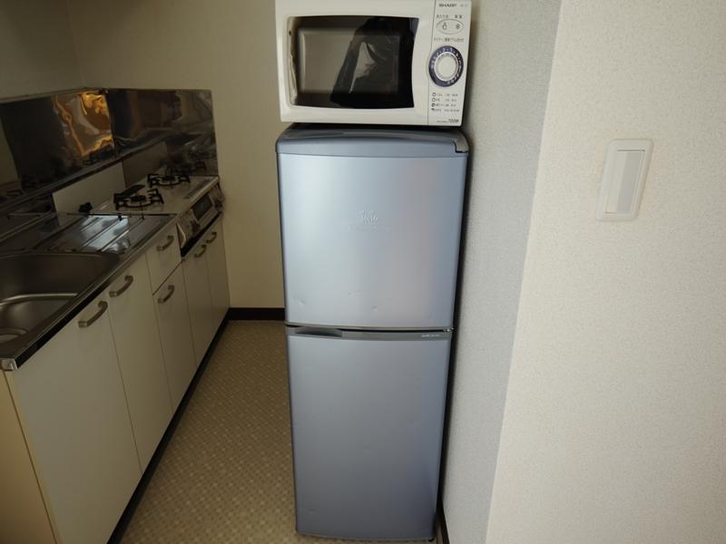 電子レンジ・冷蔵庫・電気ケトル・炊飯器・掃除機もご用意してあります。