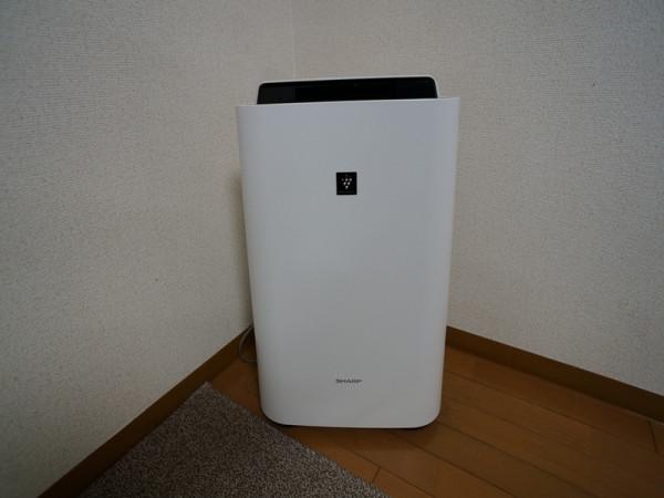 空気清浄器付加湿器