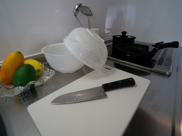 調理用品:まな板/包丁/ボウル・ザル/フライパン/鍋/お玉/フライ返し