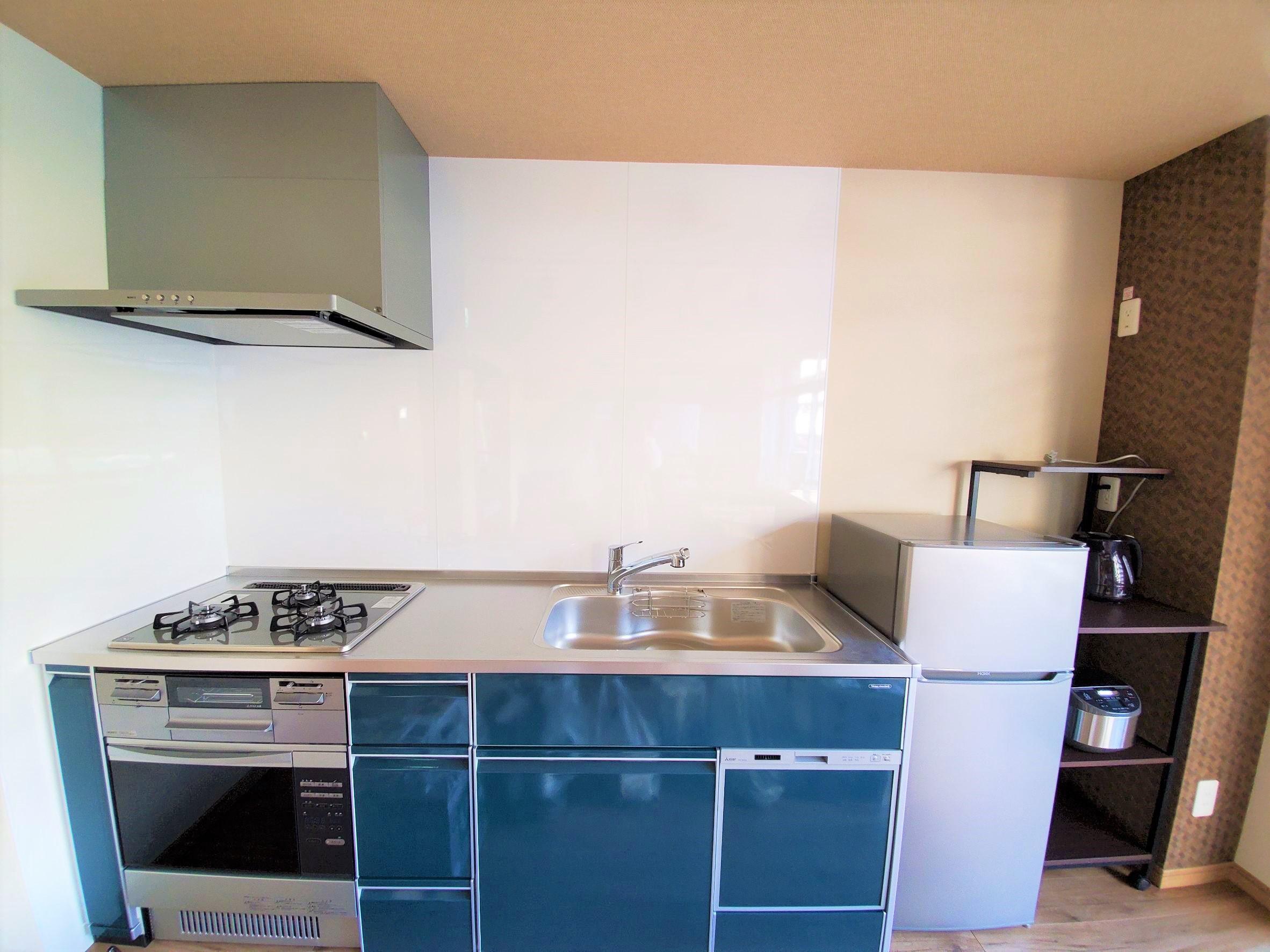 オーブン付システムキッチン