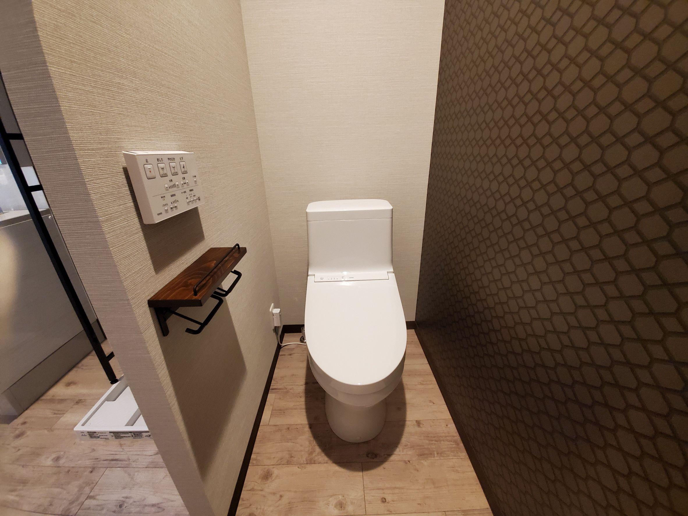 部屋画像6:トイレ・お風呂